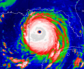 Hurricane Katrina was a hurricane that at its peak had a strength classification of Category 5 before later being downgraded to a Category 4 at its second, most significant landfall. Extensive and severe damage was caused by the hurricane across the Gulf Coast region of the southeastern United States, including Louisiana's largest city, New Orleans, on August 29, 2005. New Orleans was under a mandatory evacuation order, in the days before the hurricane hit, but many residents remained in the city. The vast majority of those who stayed were likely unable to leave due to being unable to afford vehicles or bus tickets, or being too elderly or infirm to travel.